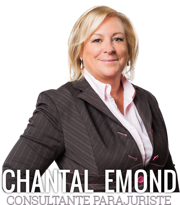 Chantal Emond - Consultante parajuriste
